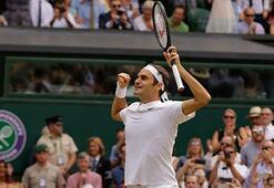 Wimbledonda şampiyon Federer