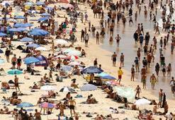 Sydneyde 79 yılın en sıcak günü