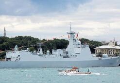Çin'den İstanbul'a askeri filo