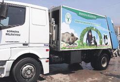 Bornova'da çöpler için yaz mesaisi