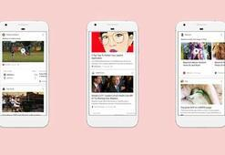 Google uygulamasına Facebook benzeri haber akışı eklendi