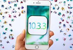 Apple, iOS 10.3.3 güncellemesini yayınladı