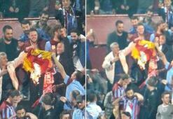 Avni Akerde Galatasaray formasını yaktılar