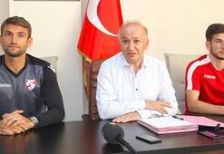 Boluspor, Ertuğrul Taşkıran ve Melih Okutan ile sözleşme imzaladı