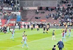 Ereignisreiches Spiel in Trabzon