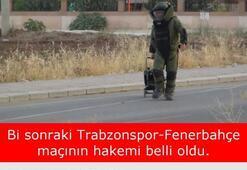 Trabzonspor - Fenerbahçe maçı capsleri