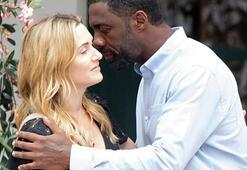 Kate Winslet ve Idris Elba film çekiminde