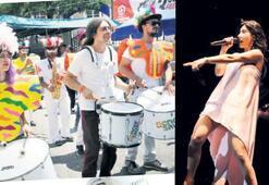 Buldan'da renkli festival