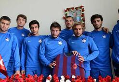 1461 Trabzonlu futbolcular, hocaları için gözyaşı döktü