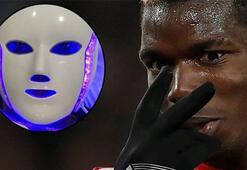 Paul Pogba, LED maskeyle cildini yeniledi
