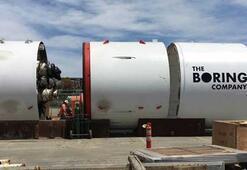 Elon Musk, yer altı tünel projesinin ilk test görüntülerini paylaştı