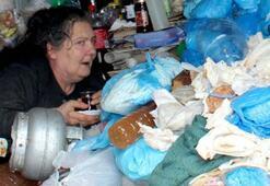 Avanosta çöp ev