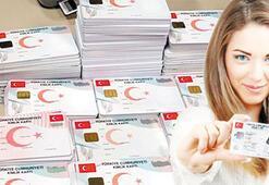 Yeni kimlik kartında sayı 16 milyona yaklaştı