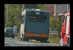 İzmirde askeri araca saldırı ve çatışma