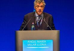UEFA Başkan Yardımcısı Angel Maria Villar istifa etti