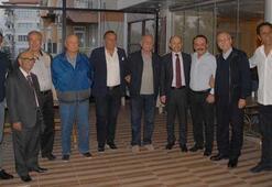 Denizlisporda eski başkanlar buluştu