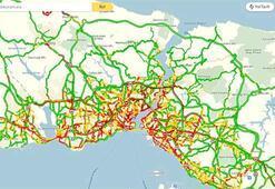 Son dakika: İstanbulda kırmızı alarm... Trafik 10 derece