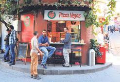 Dilim dilim pizza