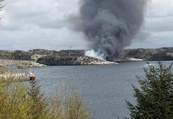 Norveçte helikopter kazası