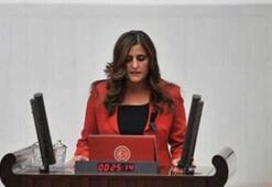 HDPli milletvekili terörist cenazesinde