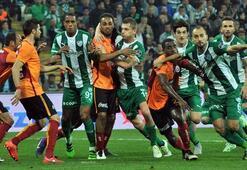Galatasaray hat 2 Punkte in Bursa verloren