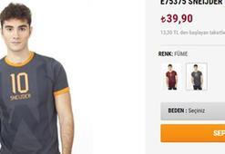 GS Storedan Sneijder fiyaskosu