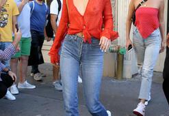 Kendall Jenner transparan sınırlarını zorladı