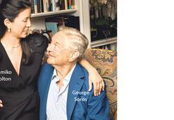Paranın patronu Soros yaşgününde nişanlandı