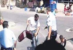 Polis kurşunları kameraya takıldı