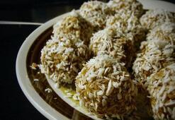 Diyet elma topları (Her biri 18 kalori)