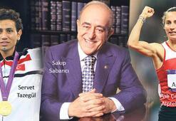'SAKIP SABANCI'NIN VASİYETİYLE ALTIN MADALYA'YA 40 CUMHURİYET
