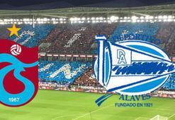 Trabzonspor Alaves maçı ne zaman saat kaçta hangi kanalda