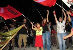 Ara bölgede ortak 1 Mayıs kutlaması
