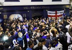 Bursaspordan şampiyon Leicestera kutlama