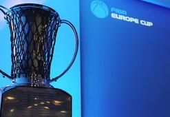 FIBA Erkekler Avrupa Kupasında Türk takımlarının rakipleri belli oldu