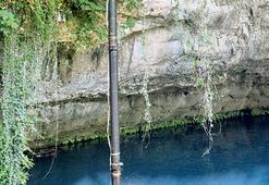 Taşıma suyla Düden Şelalesi