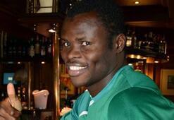 Bursada mutlu bir Nijeryalı