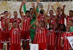 Kupada şampiyon Bayern Münih