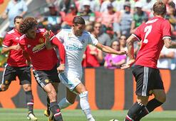 Real Madrid-Manchester United: 4-2