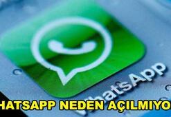 WhatsApp neden açılmıyor WhatsApp çöktü mü