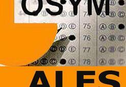 8 Mayıs Pazar ALES sınav giriş yerleri açıklandı