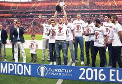 EuroCup şampiyonu TT Arenada