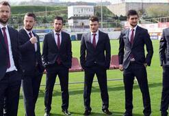 Trabzonsporlu futbolcular çok şık