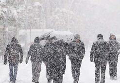 Doğuda kar alarmı verildi Öğle saatlerinden itibaren...