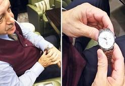 Erdoğan'ın özel kol saati