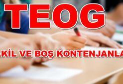 TEOG nakil başvuruları ne zaman başlıyor E-okul Lise boş kontenjanları