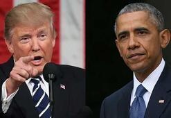 Donald Trump, Obamaya laf atmak isterken başarısız oldu