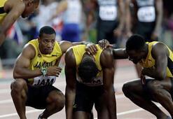 Usain Bolttan buruk veda