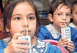 Okullarda 2. dönem haftada 3 gün süt