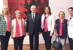 Kılıçdaroğlu, Kadın Partisi ile görüştü